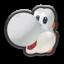 MK8 White Yoshi Icon.png