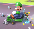 The icon of the Wendy Cup challenge from the Marine Tour and the Baby Daisy Cup challenge from the 2021 Trick Tour in Mario Kart Tour.