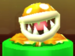 Gold Piranha Plant as viewed in the Character Museum from Mario Party: Star Rush