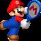 Artwork of Mario from Mario Tennis Open