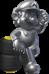Artwork of Metal Mario from Mario Kart 7