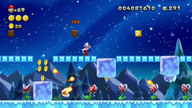NSMBU Piranha Plants on Ice Screenshot.png