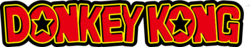 The franchise wordmark for Donkey Kong, as introduced in promotional material related to Super Smash Bros. Ultimate.