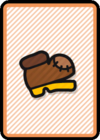 A Worn-Out Jump Card in Paper Mario: Color Splash.