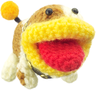 Poochy from Yoshi's Woolly World.