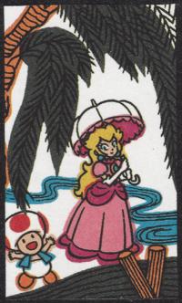 First card of November in the Club Nintendo Hanafuda deck.