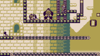 Stage 9-1 of Donkey Kong for the Game Boy