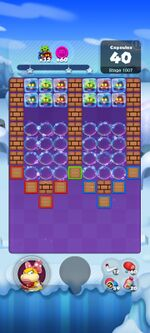 Stage 1007 from Dr. Mario World