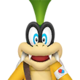Sprite of Dr. Iggy from Dr. Mario World