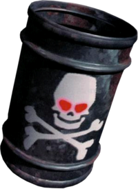 Artwork of Dumb Drum from Donkey Kong Country.