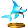 Enguarde trophy from Super Smash Bros. for Wii U
