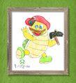 Kinopio-kun Hammer Bro painting.jpg