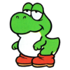 Baby Yoshi in Yoshi (game)