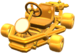 Gold Pipe Frame from Mario Kart Tour