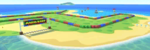 SNES Koopa Troopa Beach 2 from Mario Kart Tour