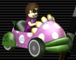 Piranha Prowler from Mario Kart Wii
