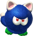 A Bully with cat-like features from Super Mario 3D World + Bowser's Fury.