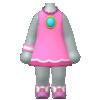 "The ""Princess Peach Tennis Outfit"" Mii costume"