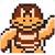Boom Boom icon in Super Mario Maker 2 (Super Mario Bros. 3 style)