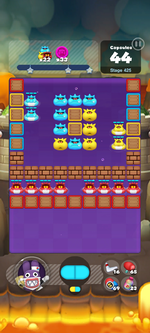 Stage 425 from Dr. Mario World