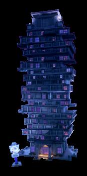 Artwork of ScareScraper from Luigi's Mansion 3