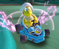 The icon of the Wendy Cup challenge from the Mario Tour in Mario Kart Tour.