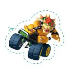The icon for Mario Kart Racers from Nintendo Kids Club