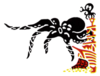 A Sticker of Octopus from Game & Watch in Super Smash Bros. Brawl.