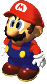 Official artwork of Mario.