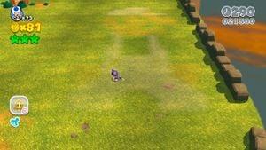 Hidden Luigi in Sprawling Savanna.