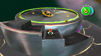 A view of Topmaniac in his arena