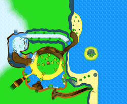 Map of Timber's Island