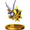 Zinger trophy from Super Smash Bros. for Wii U
