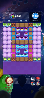 Stage 8A from Dr. Mario World