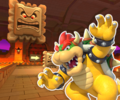 GBA Bowser Castle 1 from Mario Kart Tour.