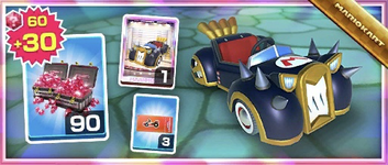 The Bruiser Pack from the Holiday Tour in Mario Kart Tour