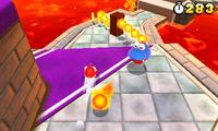 Screenshot of a Draglet from Super Mario 3D Land