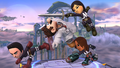 Challenge 87 from the ninth row of Super Smash Bros. for Wii U