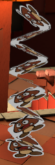 Accordion Goomba sprite from Paper Mario: Color Splash.