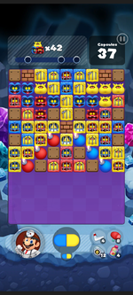Stage 487 from Dr. Mario World
