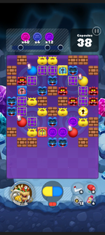 Stage 515 from Dr. Mario World