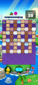 Stage 613 from Dr. Mario World