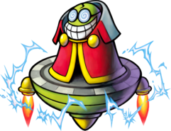 Fawful art from Mario & Luigi: Bowser's Inside Story.