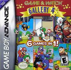Game & Watch Gallery 4 box cover