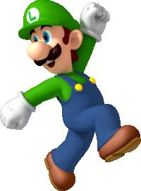 Mario Party 8 Artwork: Luigi