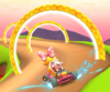 The icon of the Shy Guy Cup challenge from the 2020 Halloween Tour in Mario Kart Tour
