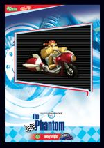 The Phantom card from the Mario Kart Wii trading cards