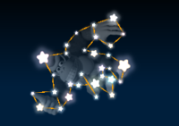 Donkey Kong's constellation in the game Mario Party 9.