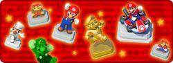 "In-game notification banner for ""Weekend Spotlight: Mario"" in Super Mario Run."