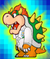 The Catch Card for Bowser in Super Paper Mario